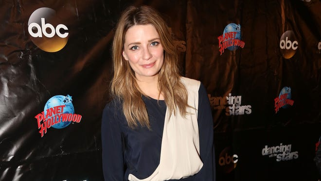 """Mischa Barton poses at the 22nd Season Stars of ABC's """"Dancing With The Stars"""" cast announcement at Planet Hollywood Times Square March 8 in New York."""