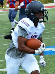 Derek Lynch (Bloomfield Hills) scored the first TD for the East squad in a 21-0 All-Star game win over the West.