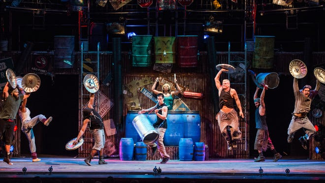 The international percussion sensation Stomp performed in El Paso in 2016 and is returning with a new show.
