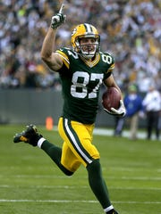 Packers wide receiver Jordy Nelson