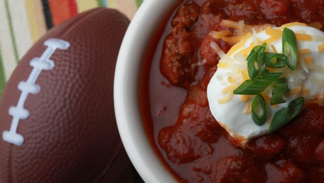 Bloody Mary Beef Chili.
