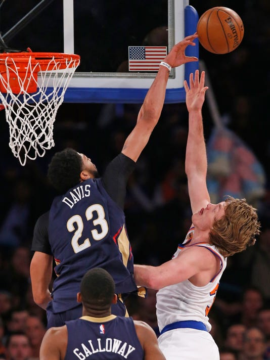 Anthony Davis, Ron Baker
