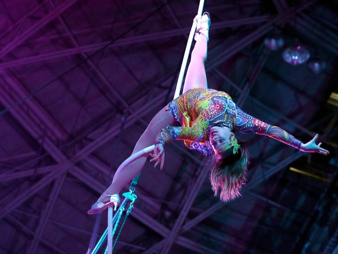The Beja Shrine Circus returned to the Brown County