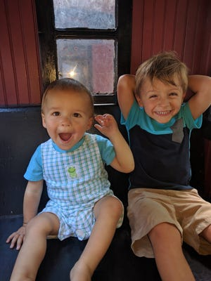 And, of course, the train at the zoo is an entertaining place for the kids too!