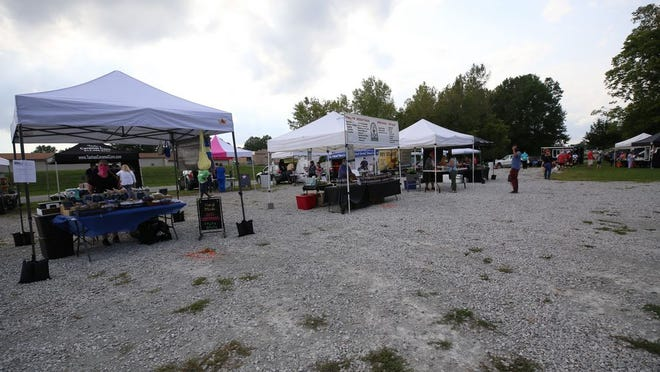 A 100-by-250-foot portion of the city-owned lot at 89 N. Center St. will be paved in October. The lot is home to the Olde Pickerington Farmers' Market and other events and is used for parking by those visitng Olde Pickerington Village businesses.