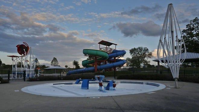 Empty pool at Dodge Park