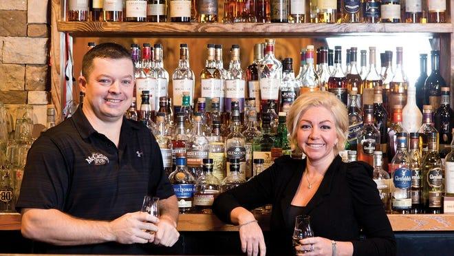 Brent McClellan and Amy Schirtzinger, owners of McClellan's Pub