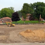 Excavation and site preparation of the Law Enforcement Center has been going on for few weeks. Installation of geo-piers was to begin this week.
