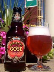 An image of Boulevard Brewing Co.'s Hibiscus Gose beer.