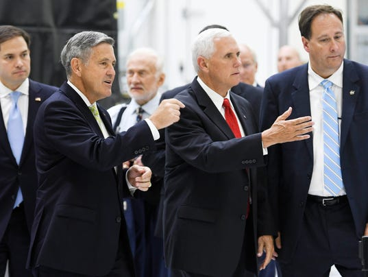 Vice President Mike Pence Visits KSC