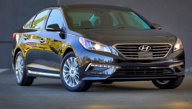 The 2015 Hyundai Sonata is being recalled