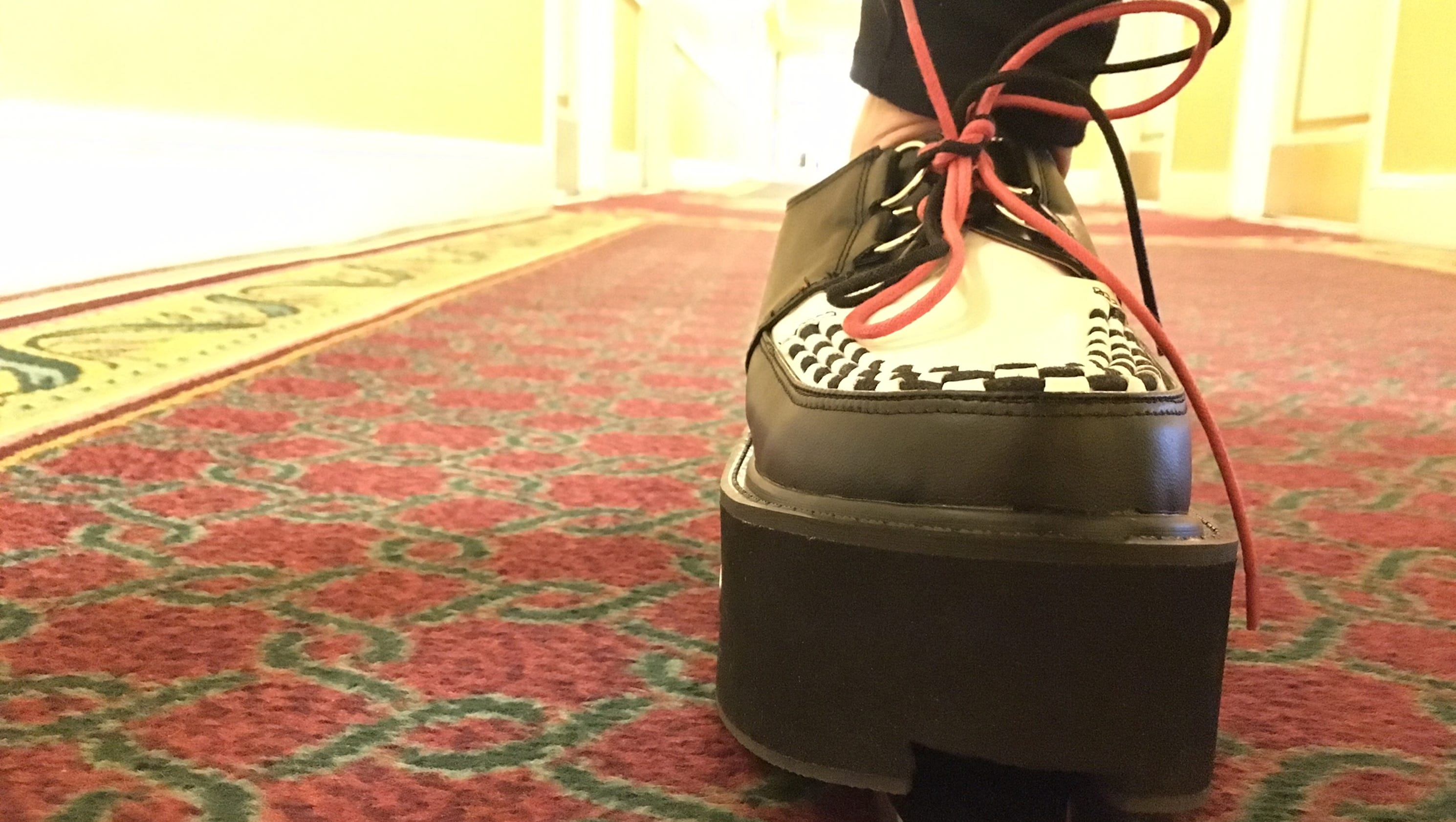 Vacuum Shoes Crumbs As You Stroll