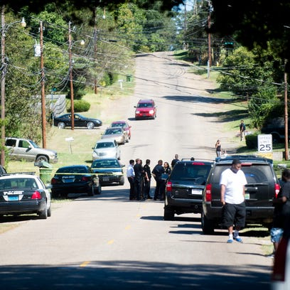 Drive-by shooting possibly gang-related