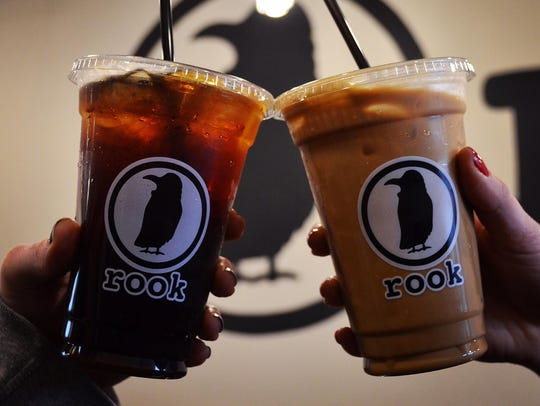 Be sure to enjoy a cold brew coffee from Rook Coffee