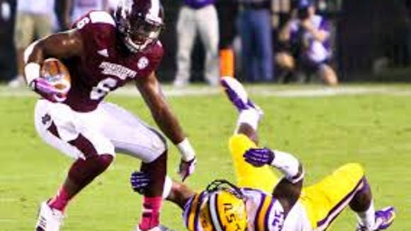 Mississippi State looks for tight end Malcolm Johnson to finish his career with a big season.