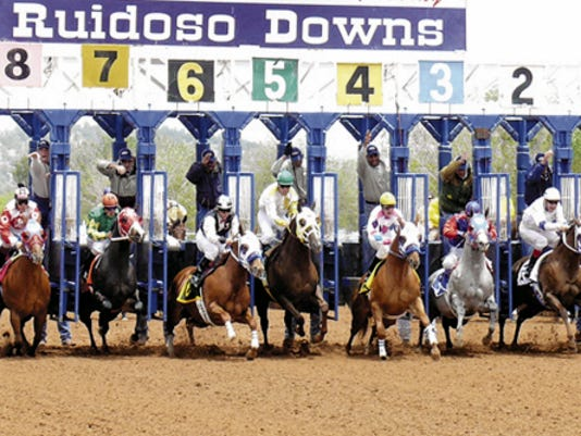 Three-year-old fillies will compete int he 50,000 Aspen Cup Saturday afternoon at Ruidoso Downs.