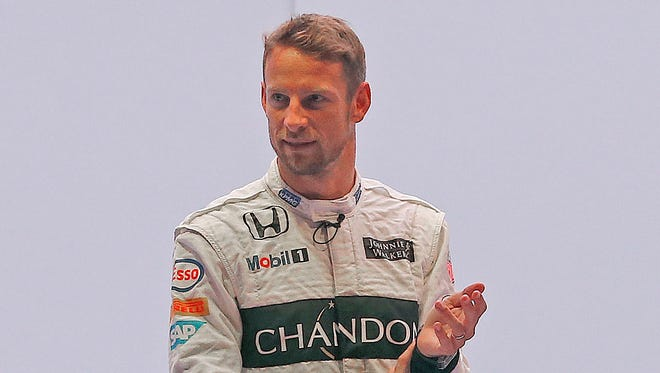 British McLaren F1 driver Jenson Button and McLaren announced a new sponsorship deal with champagne brand Chandon.