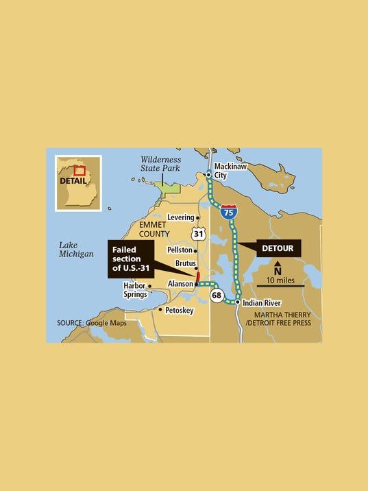 DFP holiday roads map PRESTO