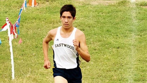 Eastwood senior Daniel Bernal is the city's top runner.