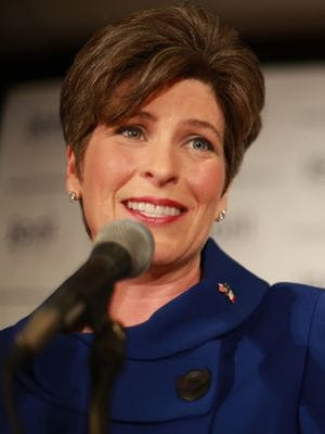Sen. Joni Ernst, R-Iowa, is the lead sponsor of legislation that would end federal funding of Planned Parenthood.