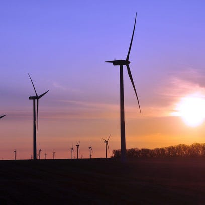 wind turbines in S.D.