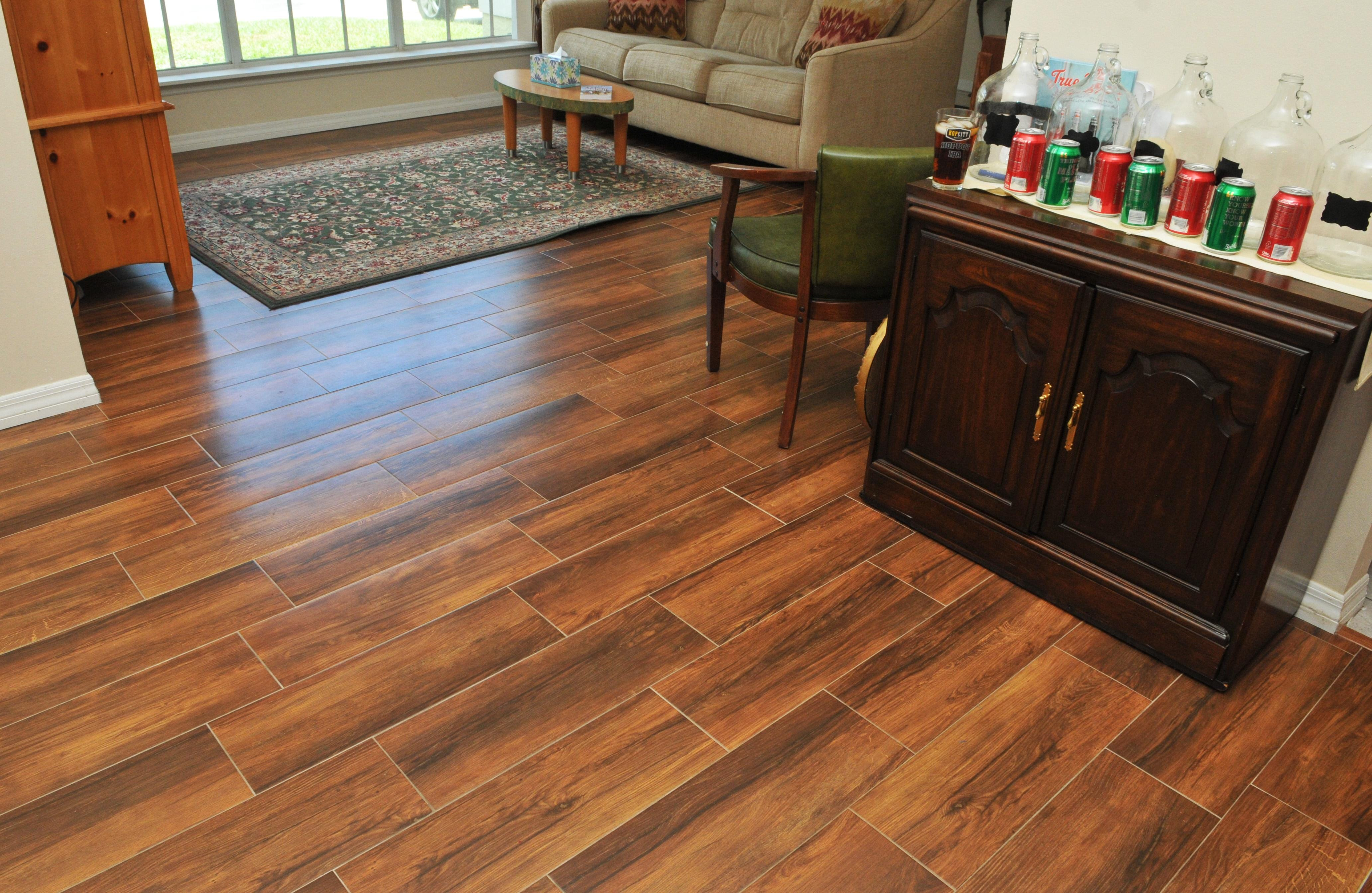 The Engle Home In Palm Shores Recently Had The Floors