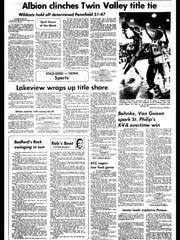 Battle Creek Sports History: Week of Feb. 16, 1997