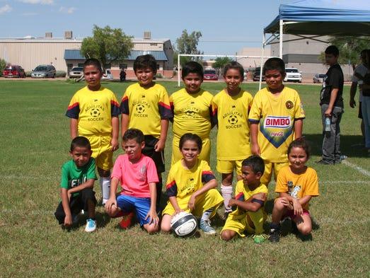 Comandados por Ismael González, el América Júnior dio muestra de que los pequeños saben imponer su buen fútbol.