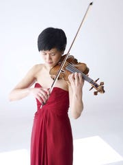 Violinist Jennifer Koh performs with the Milwaukee