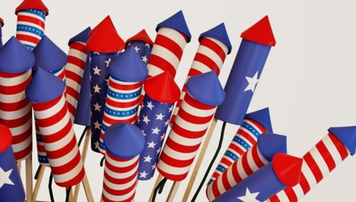 Which kinds of fireworks are illegal in Arizona?