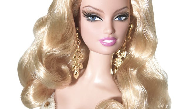 Here is the 2009 Golden Anniversary Barbie. Kindervelt 55 is hosting a Barbie Soiree on Oct. 5 at Triple Crown Country Club in Union.