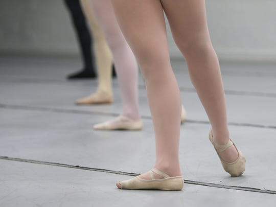 Ballet San Angelo students dance at the Stephens Performing Arts Center.