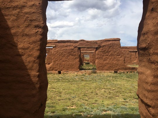 Sonya Cooper, associate dean of academics at New Mexico State University's College of Engineering, traveled across the western United States during her fall semester sabbatical. She worked on a wall stabilization project of the ruins at the Fort Union National Monument near Las Vegas, New Mexico.