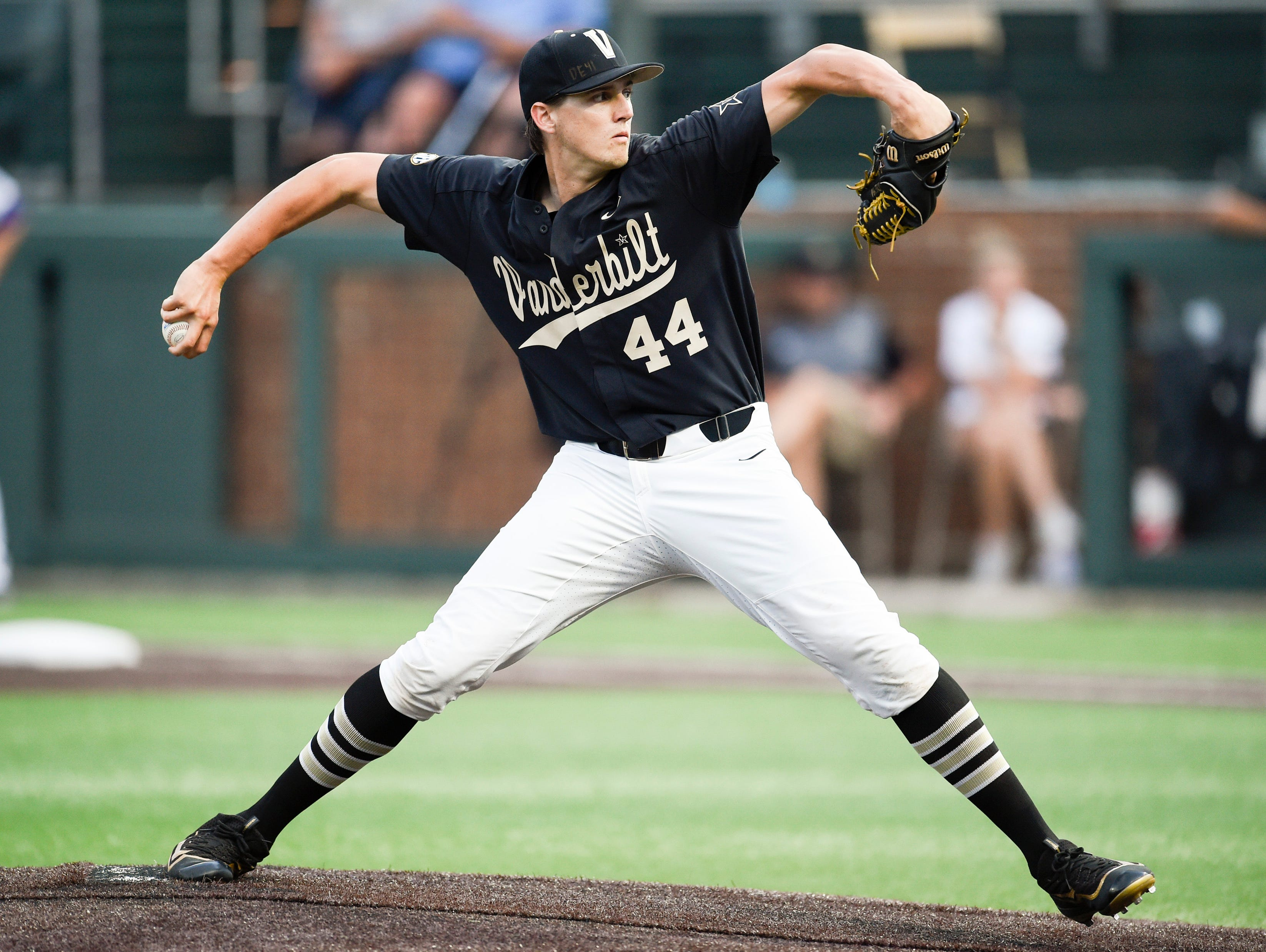 Vanderbilt pitcher Kyle Wright is expected to be a top-10 pick in the draft.