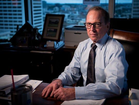 TDOT commissioner John Schroer at his office in Nashville,