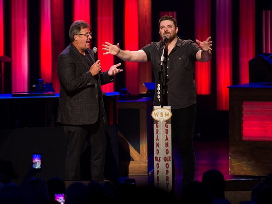 Chris Young is invited to join the Grand Ole Opry by