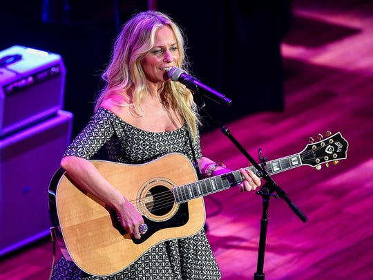 "Deana Carter performs ""Strawberry Wine"" during the"