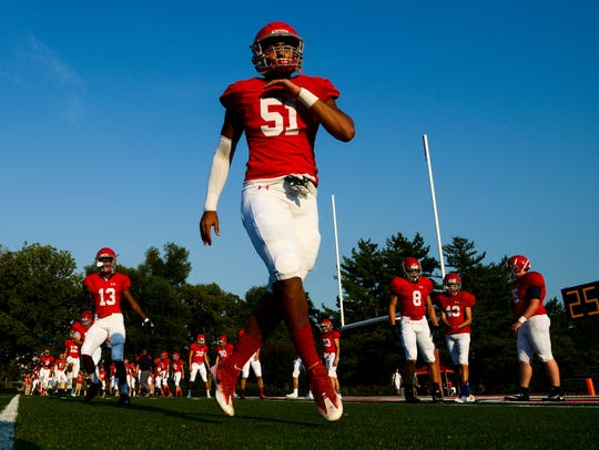 Brentwood Academy is ranked sixth in the USA TODAY