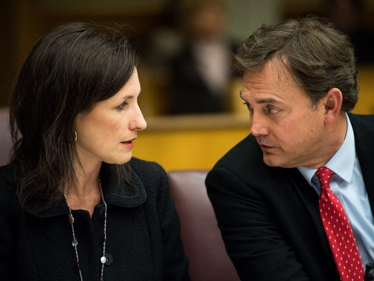 Tara Swafford and Tony Swafford, attorneys for Brentwood