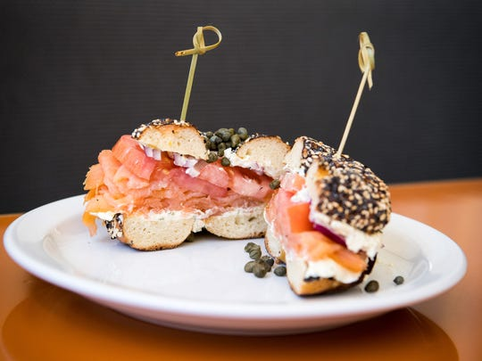 The classic bagel sandwich is among the offerings at