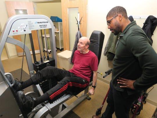 At Atlantic Rehabilitation, exercise physiologist Michael
