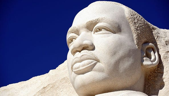 The Martin Luther King Jr. Memorial in Washington,