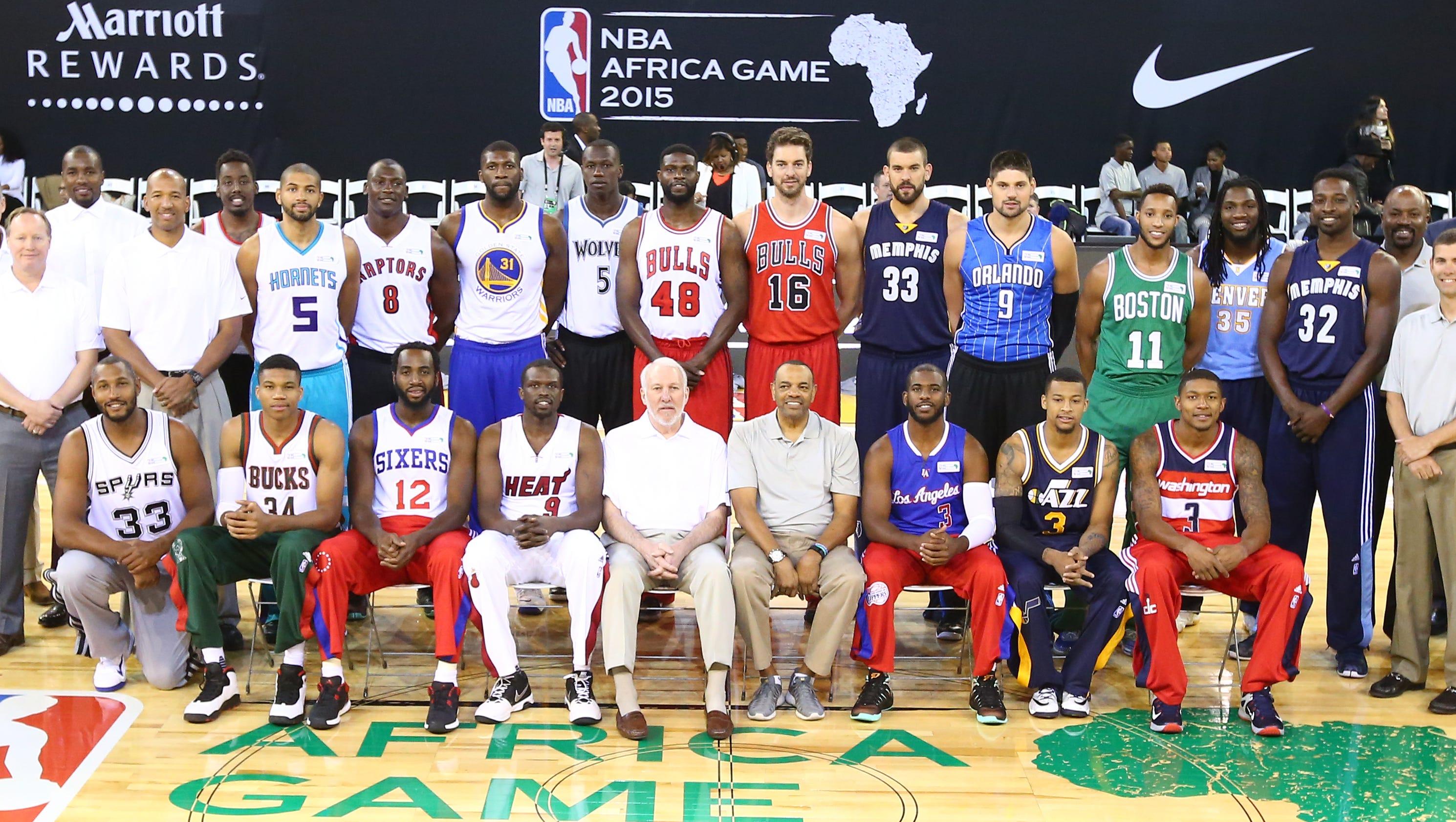 C.J. McCollum, Bismack Biyombo headline second NBA Africa Game