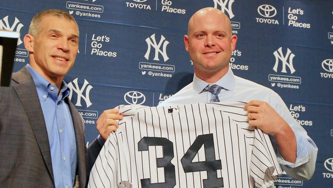 The Braves lost catcher Brian McCann to the Yankees via free agency.