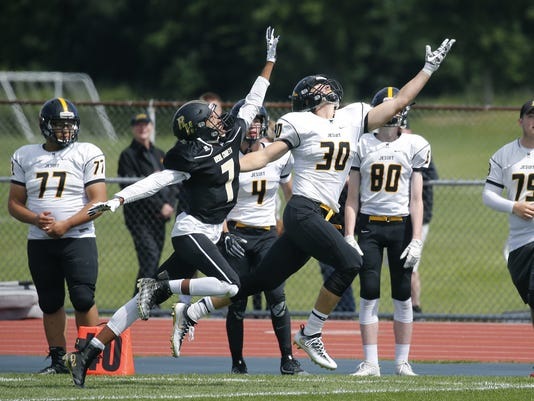 McQuaid, Schroeder leap in Section V football poll