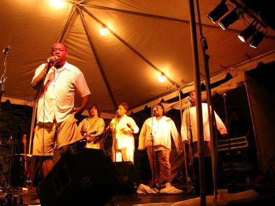 Matt Williams and the Harlem Gospel Choir at the 2006
