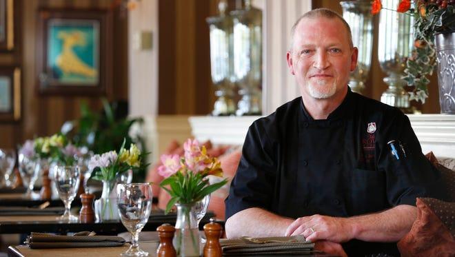 David Jeffries is the chef de cuisine at J. Graham's Cafe.