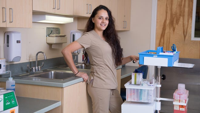 Yuliana Sanchez is a Registered Nurse working at Rockledge Regional Medical Center.