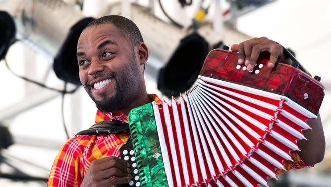 Creole accordionist and fiddler Cedric Watson is part of the lineup for the spring season on Bach Lunch.