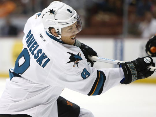 Joe Pavelski was named the ninth captain in San Jose Sharks history in October.